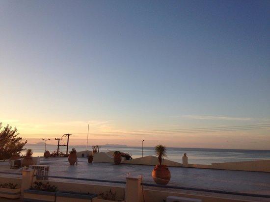 Hotel Rethymnon Mare: Utsikt från en av terasserna