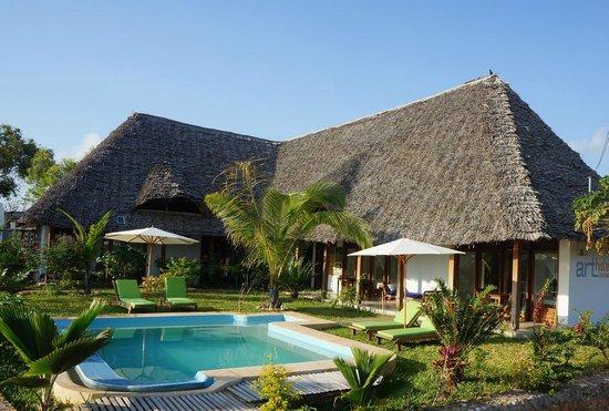 Art Hotel Zanzibar: Hotelansicht