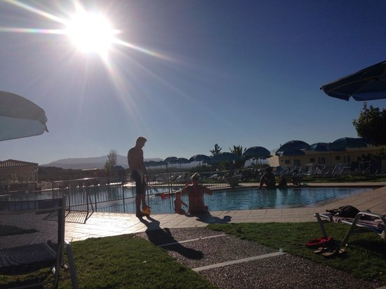 Hotel Rethymnon Mare: Övre poolen