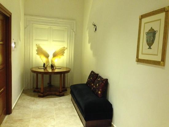 Hotel Le Clarisse al Pantheon: corridor chambre 1er étage