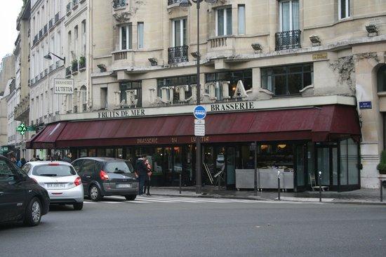 Brasserie del hotel photo de h tel lutetia paris tripadvisor - Brasserie lutetia paris ...