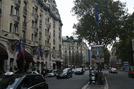 Hôtel Lutetia: Entrada del Hotel