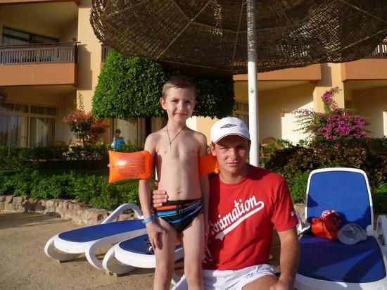 Nubian Island Hotel: Толик и Вадим