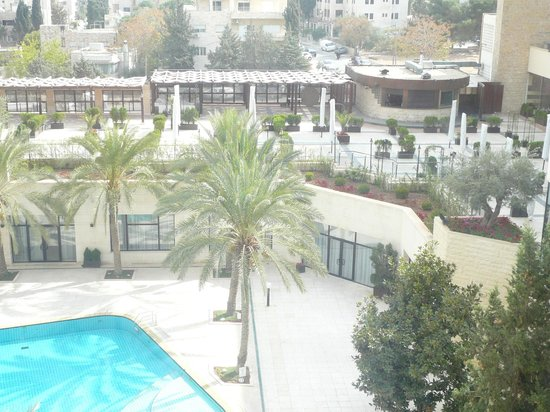 InterContinental Amman : a view from the room