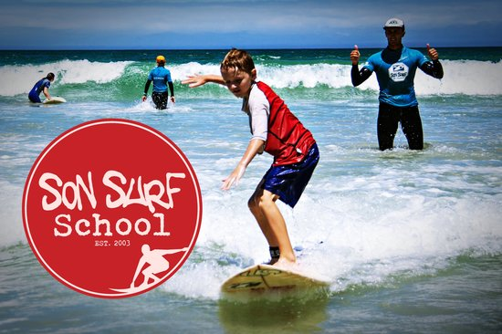 Strand, Sudáfrica: Learn to Surf