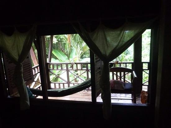 Le Bout du Monde - Khmer Lodge: View from our window