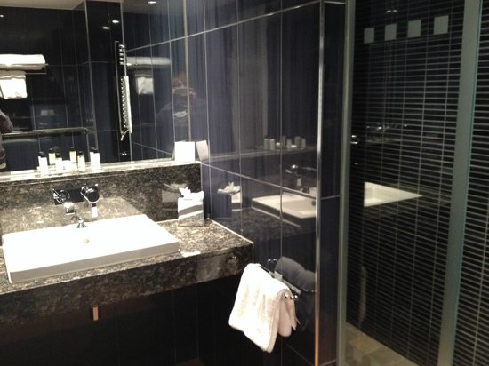Stylish Bathroom Picture Of Brooklands Hotel Weybridge Tripadvisor
