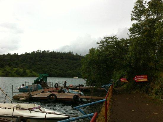 MTDC Resort, Panshet : Panshet Boating