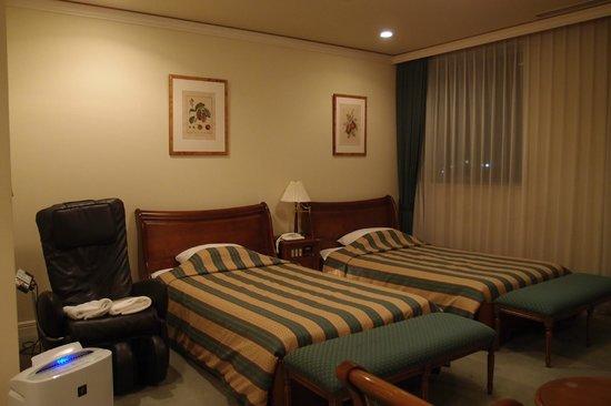 Hotel Marital Sosei: ベッド
