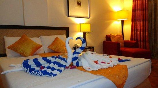 Alta Vista De Boracay: Well Decorated Bedroom
