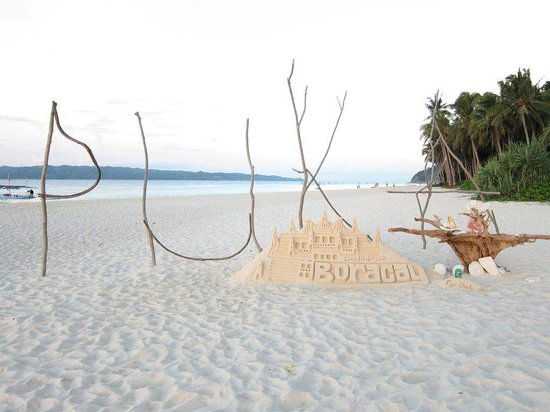 Alta Vista de Boracay: Private beach..Puka