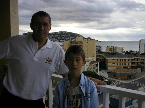 Prestige Goya Park: vue mer