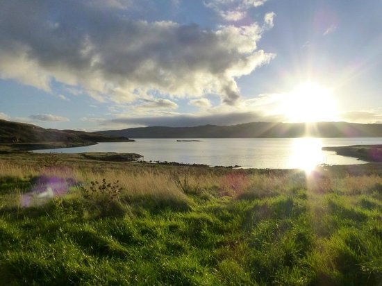 Wellpark Hotel: More beautiful scenery just down the road at Portavadie.