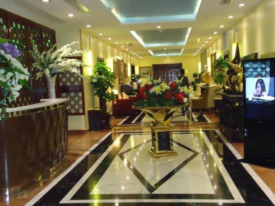 Hotel Oasis : le lobby de l' hotel
