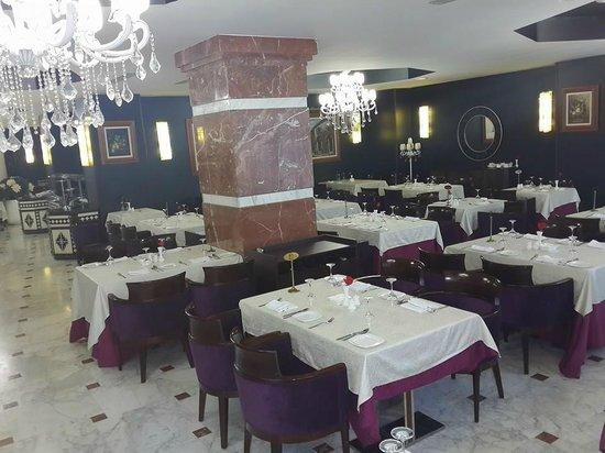 Hotel Oasis : le restaurant la Kasbah
