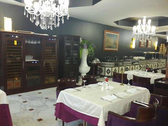Hotel Oasis : restaurant la kasbah