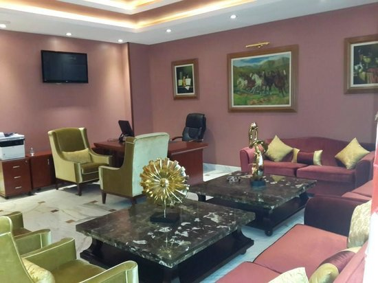 Hotel Oasis : le business center