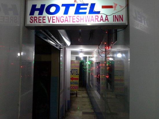 Sri Lakshmi Chetti Nadu Mess - Sree Vengateshwaraa Inn: entrance