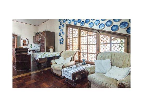 Le Acacie Felici: Zona Living Appartamento Dotto