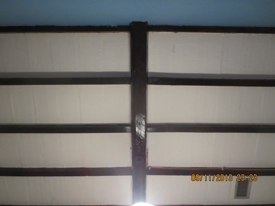 Agriturismo San Galgano: soffitto stanza