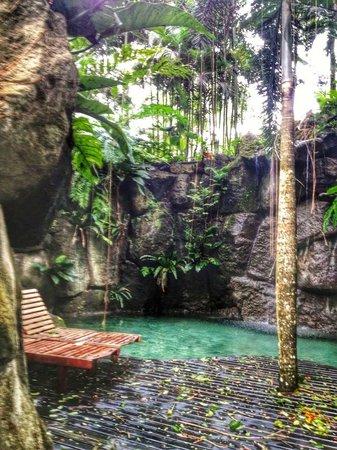 The Farm at San Benito: Waterfalls @ Secret Garden