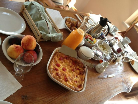Pleiades Eco Houses: Wonderful Breakfasts