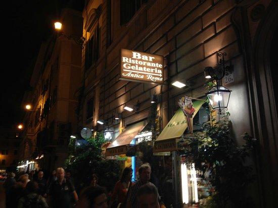 Cafeteria Antica Roma : devanture