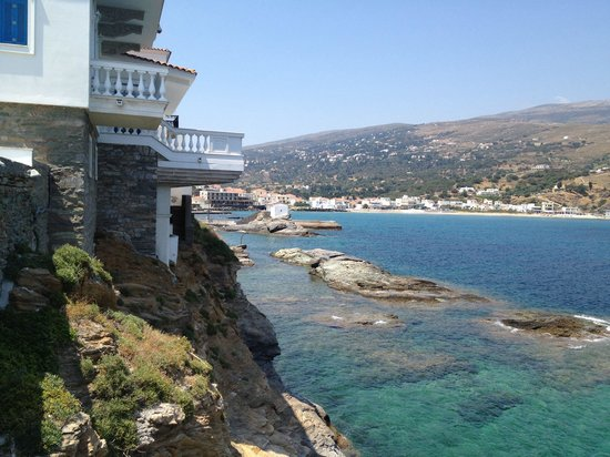 Aneroussa Beach Hotel: Andros chora
