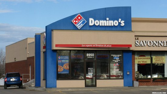 Domino 39 s pizza quebec city 2673 chemin ste foy for Dominos pizza salon
