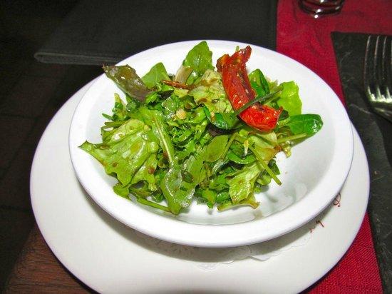 Le Tire Bouchon: Salad