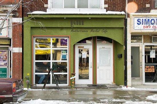 Agora Cafe Toronto Menu