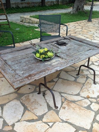 Masseria Salinola: outside the room