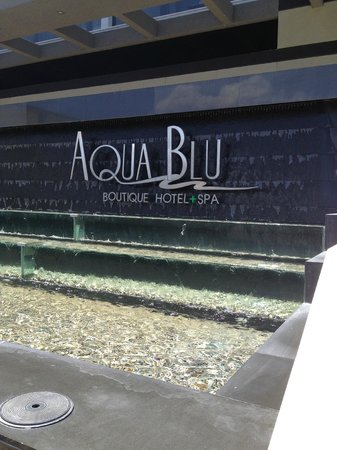 Aqua Blu Boutique Hotel + Spa: Outside