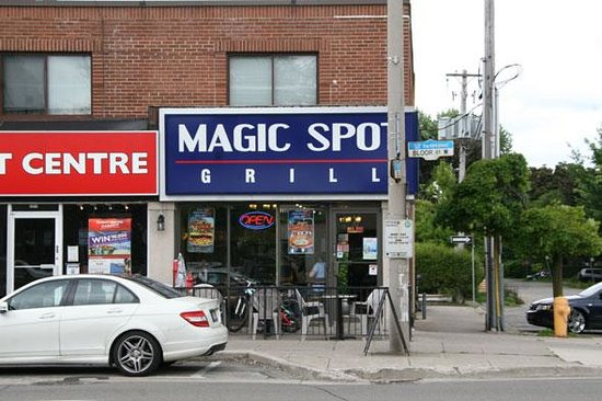 Photo of Greek Restaurant Magic Spot Grill at 2973 Bloor St W, Toronto M8X 1B8, Canada