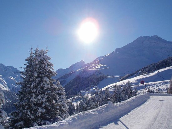 Alpengasthof Pension Praxmar: Panorama