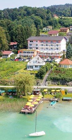 Flairhotel am Wörthersee: Hotel vom See