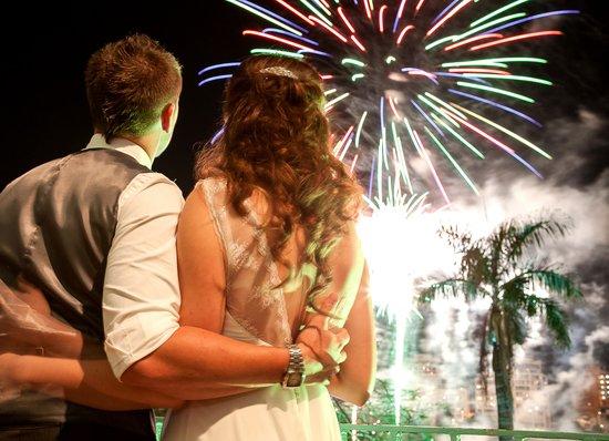 Stamford Plaza Brisbane: Fire In the Sky 2013 stamford plaza