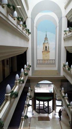 Silken Hotel Ciudad de Vitoria: Ascensor panoramico