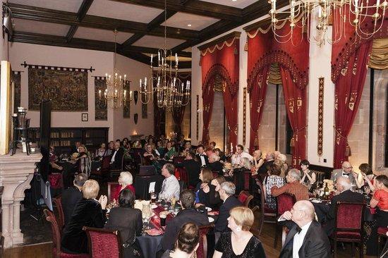 Peckforton Castle : Main hall event room