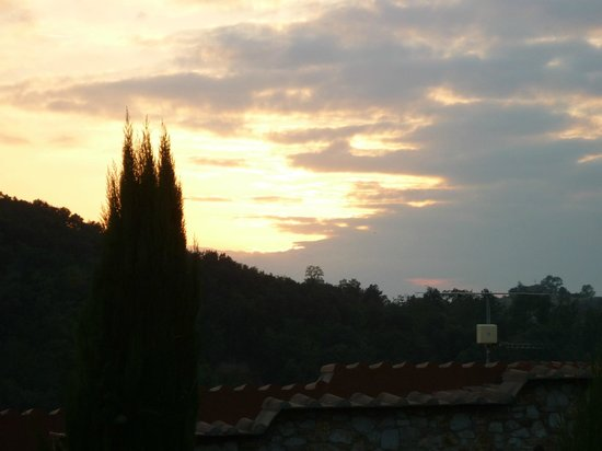IL TORRINO Country Resort: View from public terrace at sunset
