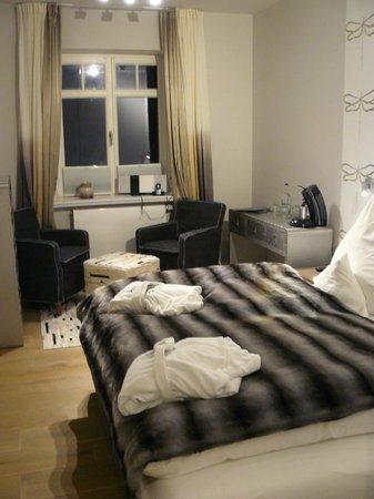 Hotel Hapag 54 Grad Nord : Unser Doppelzimmer im Altbau