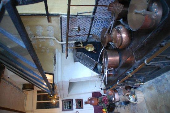 Château de Montpoupon : la cuisine