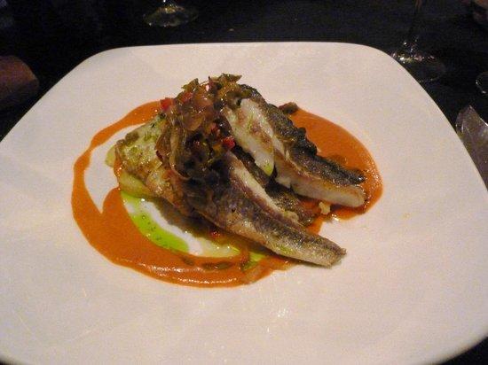 Restaurante Gran Sol: esempio di secondo piatto