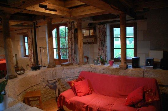 Moulin du Fief Gentil : Le salon