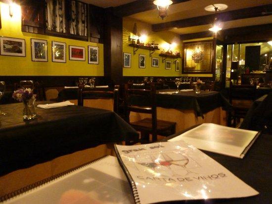 Restaurante Gran Sol: sala