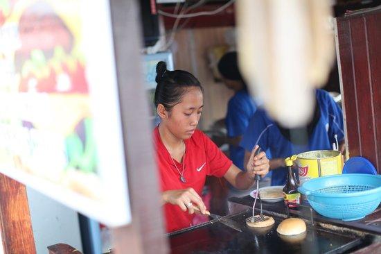Tioman Paya Resort : The lady who practically cursing us in Bahasa Malaysia