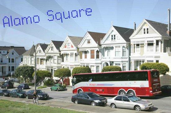 San Francisco Shuttle Tours: Alamo Square