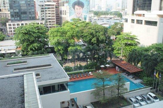 COMO Metropolitan Bangkok: the view from my room