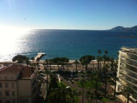 Le Grand Hotel: vue terrasse