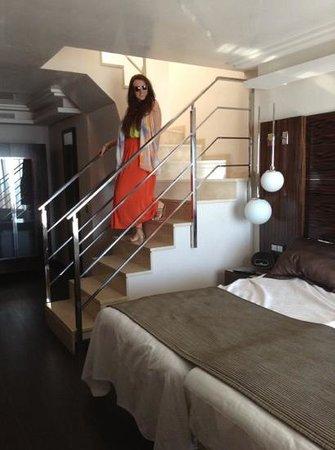 Vincci Selección Aleysa Hotel Boutique & Spa: duplex suite
